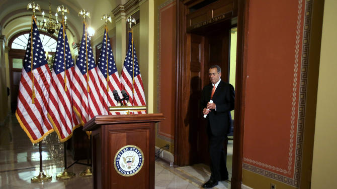 House GOP plans vote on fiscal cliff 'Plan B'