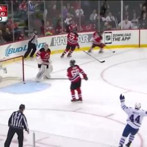 James van Riemsdyk Goal on Cory Schneider (11:49/3rd)
