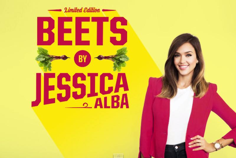 Jessica Alba and Victor Cruz want you to eat your vegetables