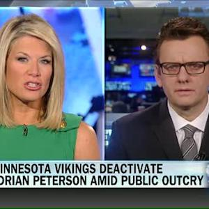 Vikings deactivate Adrian Peterson amid public outcry