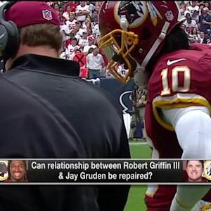 Can Washington Redskins head coach Jay Gruden, Robert Griffin III's relationship be repaired?