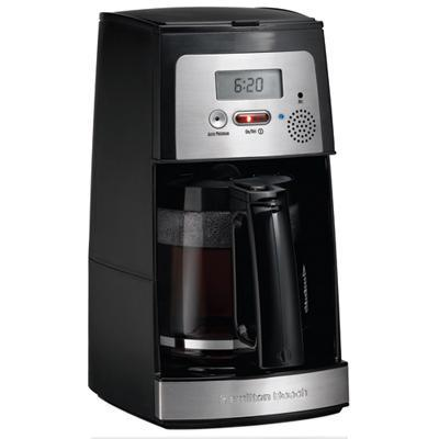 Hamilton Beach 44601 voice activated coffee maker ($50)