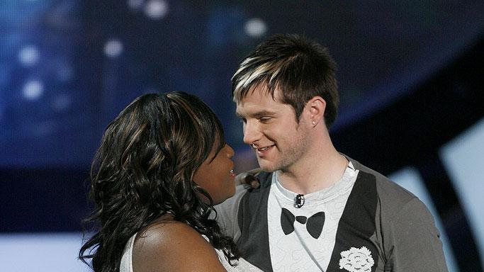 LaKisha Jones is eliminated on the 6th season of American Idol.