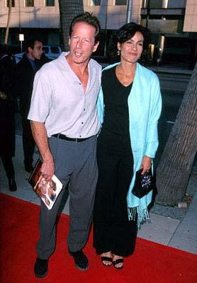 Premiere: Peter Strauss and his wife at the Beverly Hills premiere of Showtime's On The Beach - 5/16/2000