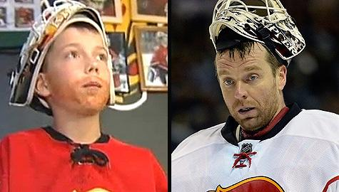 Kiprusoff Kid says goodbye to Calgary Flames goalie Miikka Kiprusoff