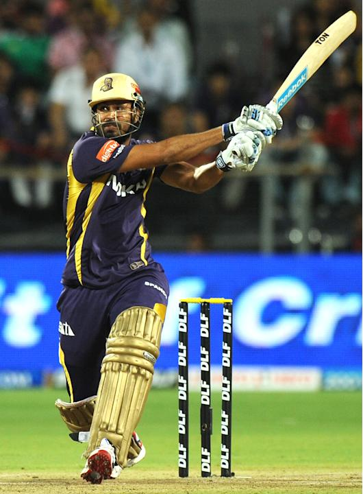 Kolkata Knight Riders batsman Yusuf Path