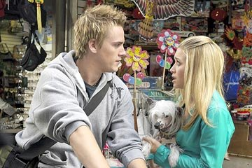 Riley Smith and Ashley Olsen in Warner Bros. New York Minute
