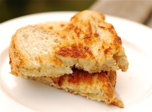 Skinny Grilled Cheese