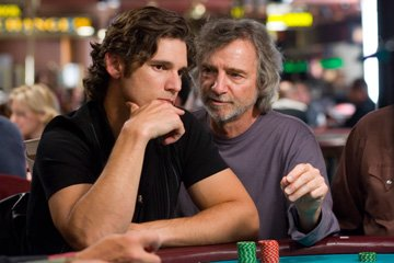 Eric Bana and director Curtis Hanson on the set of Warner Bros. Pictures' Lucky You