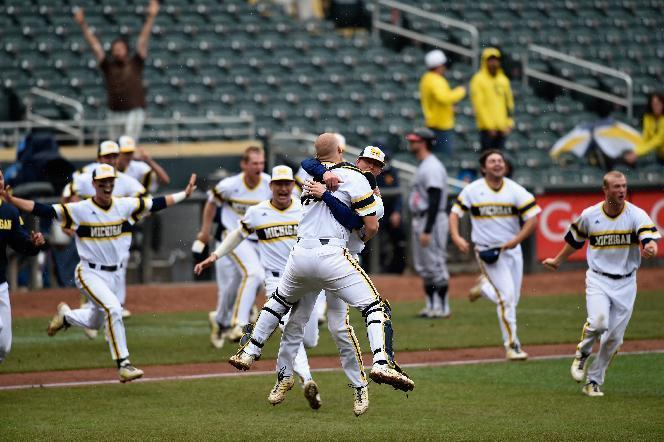 Michigan beats Maryland 4-3, wins Big Ten baseball tourney