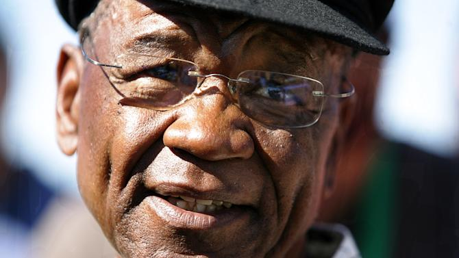 Lesotho Prime Minister Tom Thabane, pictured in 2007, tells AFP he will not reopen parliament, calling into question a South African-brokered peace deal