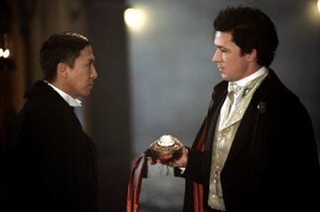 Donnie Yen and Aidan Gillen in Touchstone's Shanghai Knights