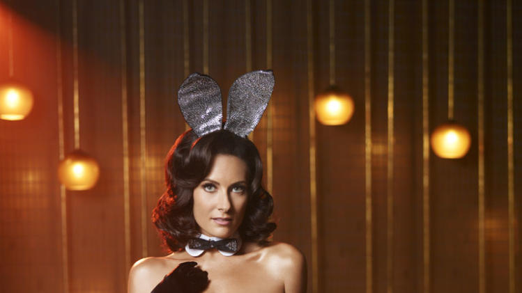 "Laura Benanti stars as Carol-Lynne in ""The Playboy Club."""