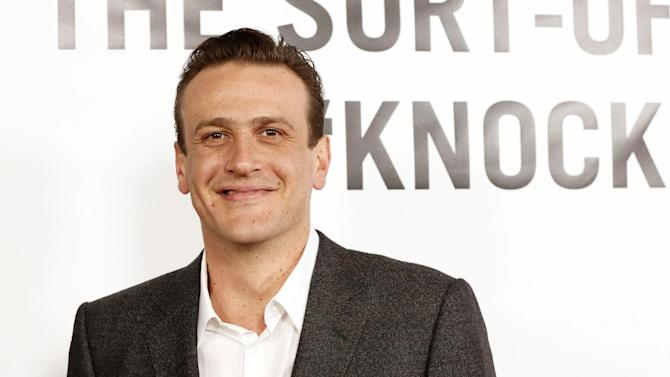"FILE - This Dec. 12, 2012 file photo shows actor Jason Segel at the premiere of ""This Is 40""  in Los Angeles. Segel has a deal with Random House Children's Books for a middle-grade series set in a haunted town. The series is called ""Nightmares!"" and will debut in the Fall of 2014.  (Photo by Todd Williamson/Invision/AP, file)"