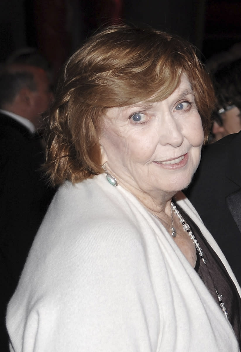 AP NEWSBREAK: Actress Anne Meara, mom of Ben Stiller, dies