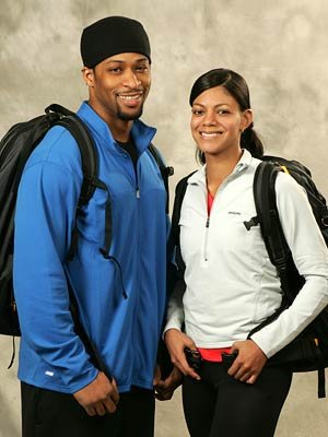 Dating couple Ray and Yolanda CBS' The Amazing Race 9