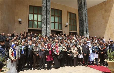Libya's constitution-drafting body starts work