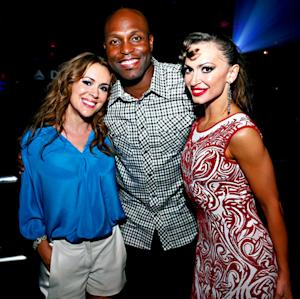 Alyssa Milano and Karina Smirnoff Kick Off All-Star Week in NYC