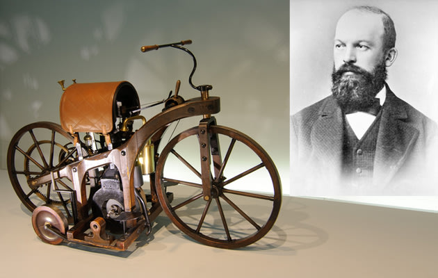 gottlieb daimler and his inventions essay The first internal combustion, petroleum fueled motorcycle was the daimler reitwagenit was designed and built by the german inventors gottlieb daimler and wilhelm maybach in bad cannstatt, germany in 1885.