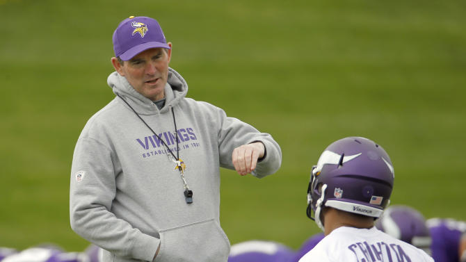 Mike Zimmer's takeover of Vikings starts