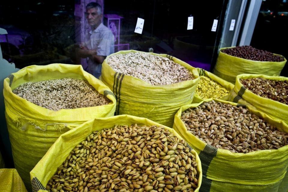 Iranians rebel over price of beloved pistachio