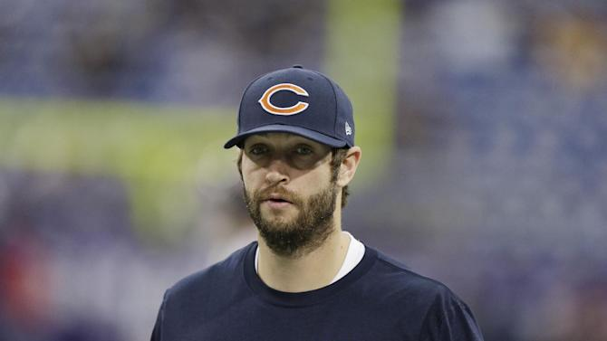 Bears' Cutler, Briggs out vs Cowboys