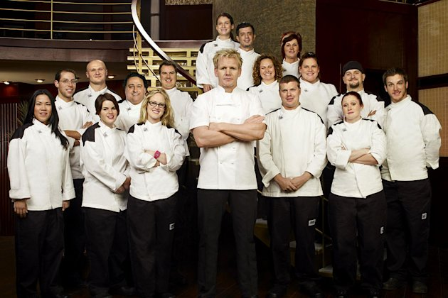"The cast of Season 8 of ""Hell's Kitchen."""