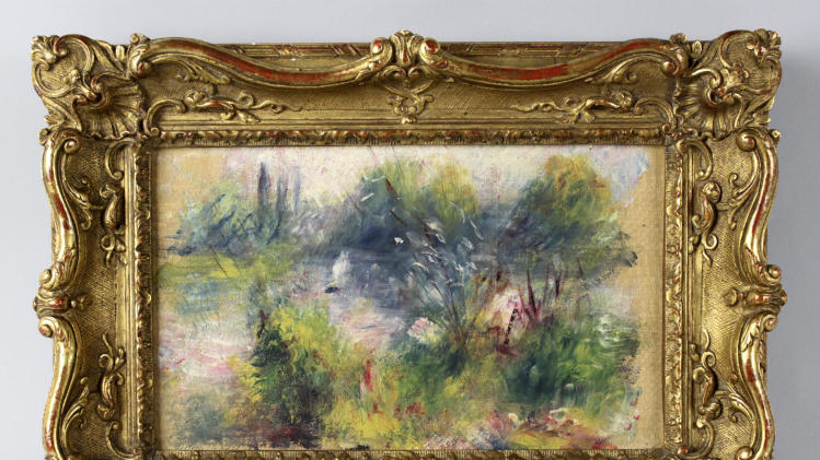 Baltimore police uncover 1951 Renoir theft report