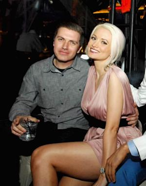 Pasquale Rotella and Holly Madison celebrate Memorial Weekend at the Chateau Nightclub & Gardens at the Paris Las Vega on May 25, 2012 in Las Vegas -- Getty Premium