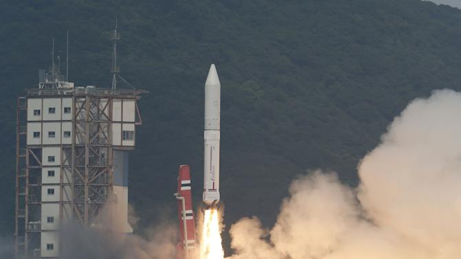 Japan launches new, cheaper rocket