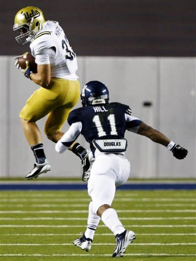 Franklin has 3 TDs as UCLA runs past Rice 49-24