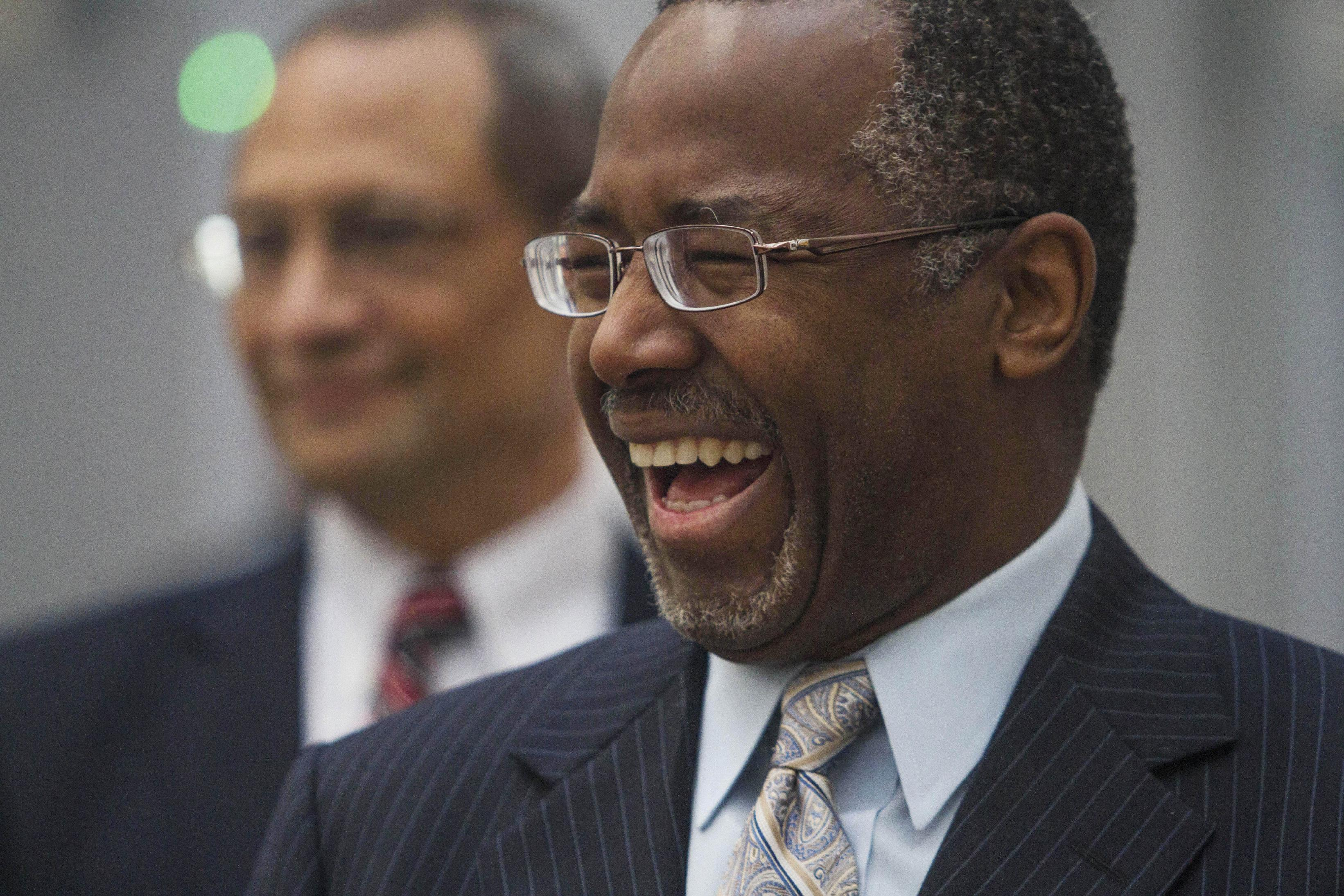 2016 hopeful Ben Carson pledges support for Israel