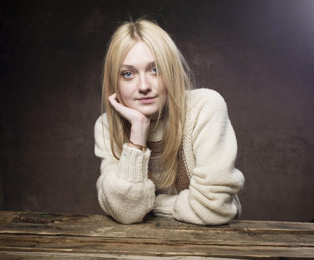 "Dakota Fanning from the film ""Very Good Girls"" poses for a portrait during the 2013 Sundance Film Festival at the Fender Music Lodge, on Tuesday Jan. 22, 2013 in Park City, Utah. (Photo by Victoria Wi"