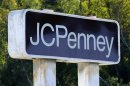A JC Penney department store sign is shown in Oceanside