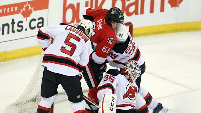 Karlsson lifts Senators past Devils in shootout