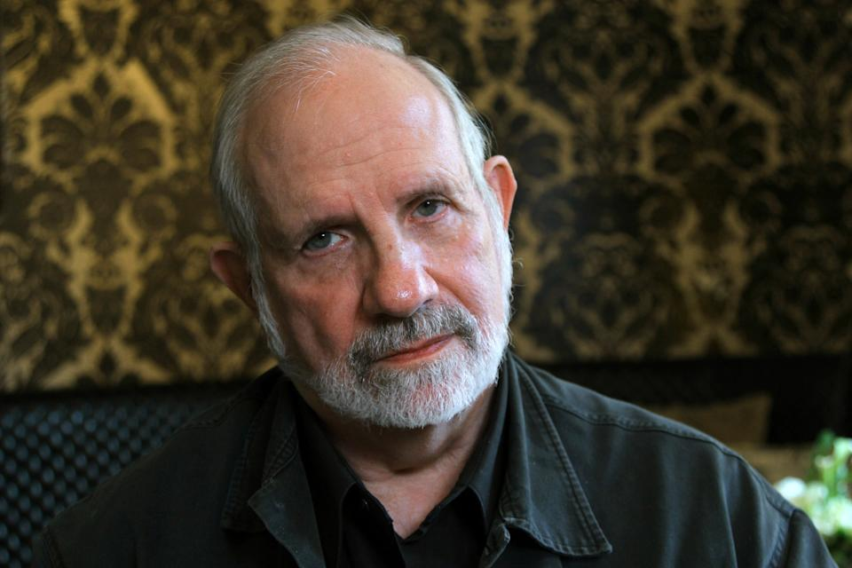 "This Sept. 11, 2012 photo shows director Brian De Palma at the Toronto International Film Festival in New York. De Palma was in Toronto to promote his film, ""Passion,"" a thriller based on the French film, ""Crime D'Amour.""  (AP Photo/John Carucci)"
