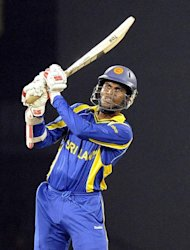 Upul Tharanga&#39;s unbeaten 59 set up a comfortable chase for Sri Lanka