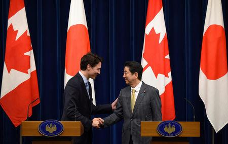 Japan, Canada share 'serious concerns' on South China Sea: PM Abe