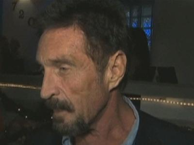 John McAfee Returns to US