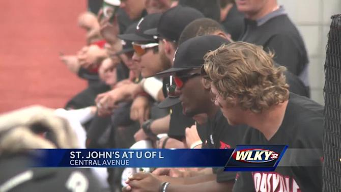 UofL hosts St. John's in afternoon doubleheader