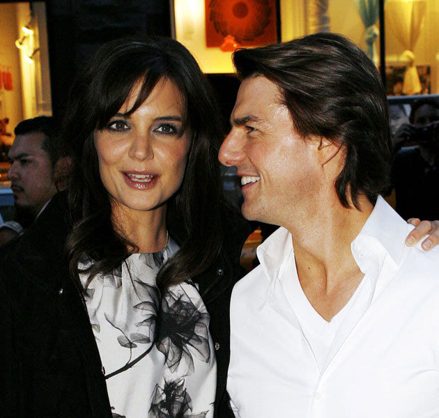 Tom Cruise and Katie H...