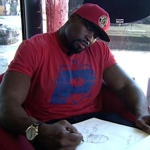 Former Chicago Bear starts comic book series