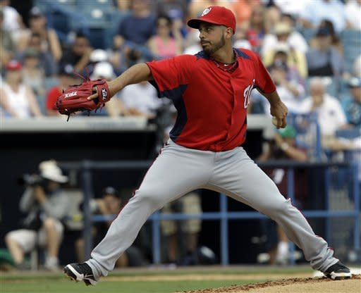 Gonzalez allows one run in Nats' loss to the Yanks