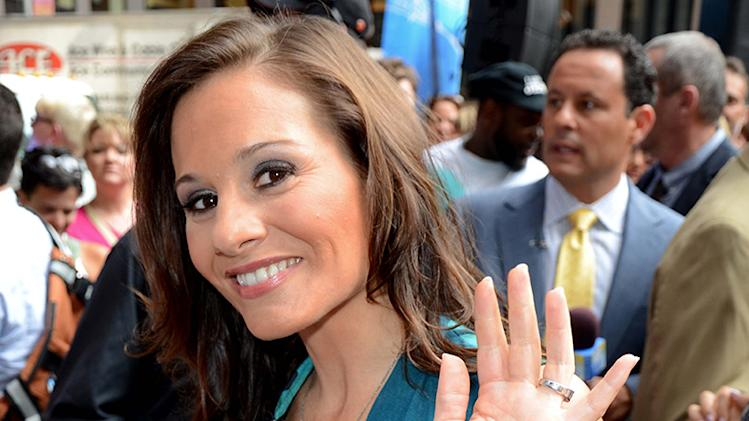 Kara DioGuardi appears on Fox & Friends as co host, NYC