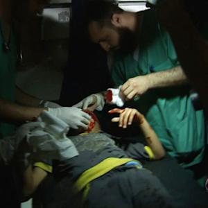 Gaza emergency rooms struggling to treat wounded