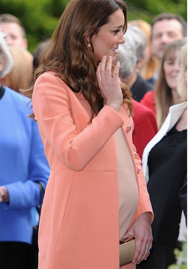 Kate middleton belly popper