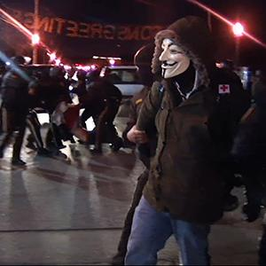 Raw: Several Arrests in Ferguson, Missouri