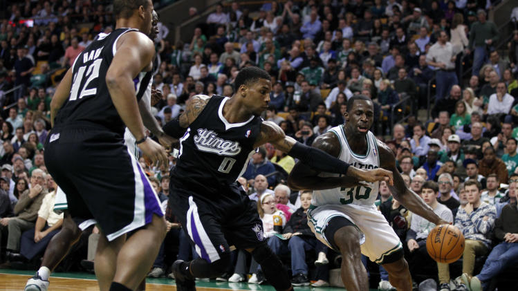 NBA: Sacramento Kings at Boston Celtics