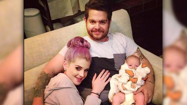 Kelly Osbourne Shares Family Pic with Jack & Pearl