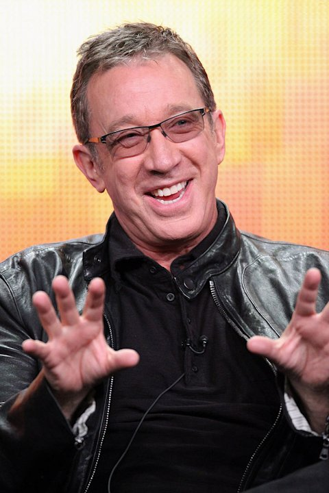 Tim Allen of the television show 'Last Man Standing' speaks during the Disney ABC Television Group portion of the 2011 Summer Television Critics Association Press Tour held at The Beverly Hilton Hotel